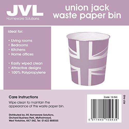 JVL Cestino, motivo: Union Jack, 25×26,5 cm prezzo