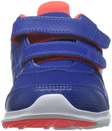 adidas Hyperfast 2.0 Cf K, Chaussures de Running Compétition Mixte Enfant Bleu (bleu roi collégial / blanc Footwear / rouge solaire)
