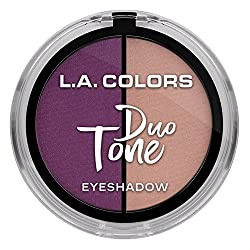L.A. Colors Duo Tone Eyeshadow, Stardust, 4.5g