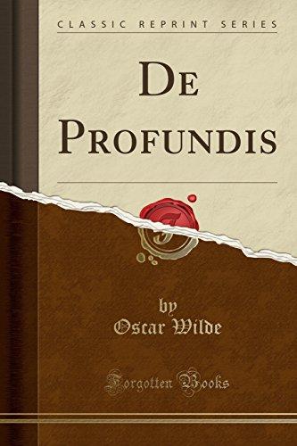 de Profundis (Classic Reprint)