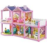 Luxuriöse 11.5'' Doll House Wohnzimmer Möbel Set-Das Schloss