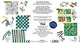 Edizioni-White-Star-3260-Cinque-Giochi-da-Tavolo-da-Colorare-e-Personalizzare-con-Sticker