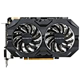 Gigabyte GeForce GTX 950 WindForce 2 OC - Tarjeta grafica (350 W, GeForce GTX 950 a 1102 MHz, 2 GB de RAM, HDMI), negro