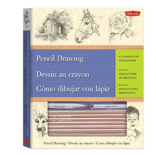 Pencil Drawing-A Complete Kit for Beginners(trilingual) by Quayside (2000-05-24)