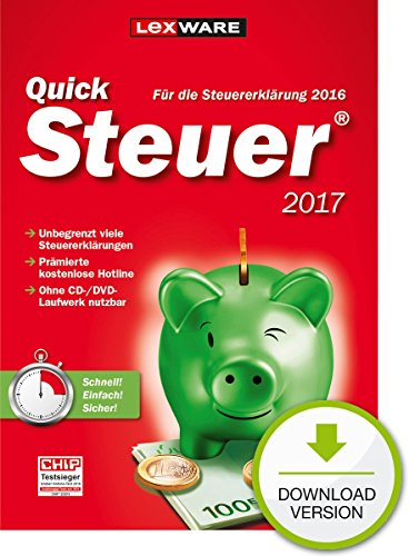 Produktbild QuickSteuer 2017 - Standard [PC Download]