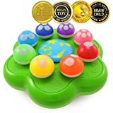 BEST LEARNING Mushroom Garden - Interactive Educational Light-Up Toddler Toys for 1 to 3 Years Old Infants & Toddlers - Colours, Numbers, Games & Music for Kids