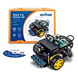 OSOYOO RC Two Wheel Self Balancing Robot Car Kit for Arduino UNO R3 DIY Educational Programmable Starter Kit, Bluetooth Remote Control by Android Smart Phone