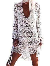 OHQ Mme Robe sans Manches De Couleur ImpriméE Multicolore Womens Summer  Jupes Femmes Mi Courtes Soldes c4609dd8767a