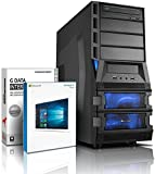 Ultra i7 DirectX 12 Gaming-PC Computer i7 950 4x3.33 GHz Turbo - AMD Radeon HD 390 8GB DDR5 - 16GB DDR3 1600 - MSI X58 -