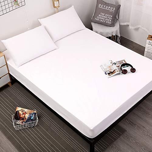 Bett matratzenbezug wasserdicht matratze pad Schutz Separate Blatt wasserdichte bettwäsche mit elastischen 90x200x30cm ()