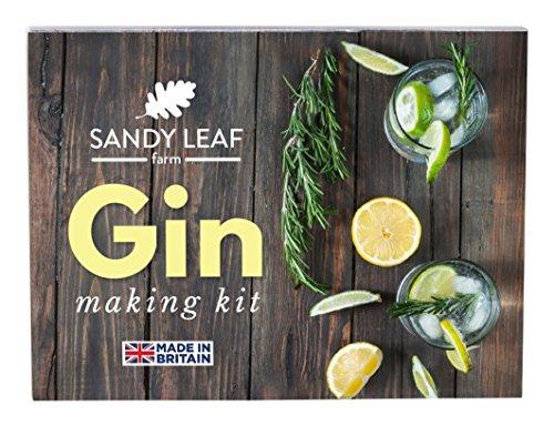Sandy Leaf Farm GIN Making-Kit–Machen Sie Ihre eigenen Gin zu Hause in Unter einer - Sie Haus Machen Eigene Ihre