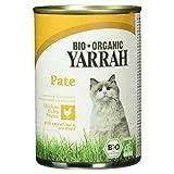 Yarrah Bio Adult Katzenfutter - Paté mit Huhn, Spirulina und Meeresalgen 400g