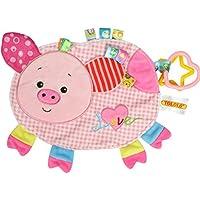 Baby kann Bissen und Komfort Handtuch Spielzeug Ein Schwein 1 Packung Produkte für Kinder preisvergleich bei billige-tabletten.eu