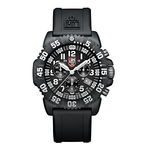 Luminox Navy SEAL Colormark Herren-Armbanduhr Chronograph Quarz Plastik - XS.3081 (Navy Uhr Seal)