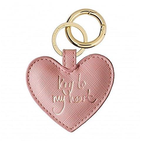 Katie Loxton Porte-clés cœur/Sac Charme