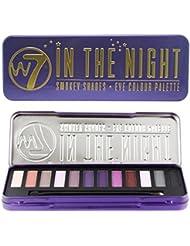 w7 Palette Maquillage de 12 Ombres à Paupières Pigmentées et Sophistiquées In The Night 15.6g