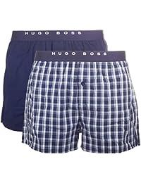 BOSS Hugo Boss Herren Boxershorts Woven Boxer EW 2P
