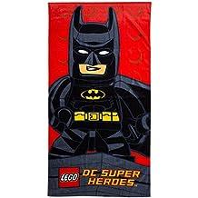 LEGO Batman DC Super Hero Comics carácter baño/natación/toalla de playa para niños/niñas niños