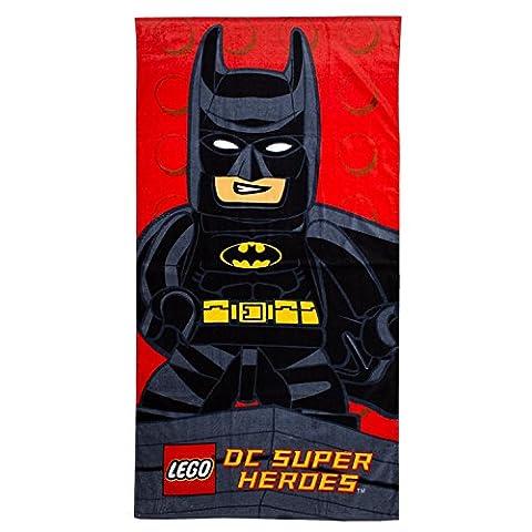 LEGO Batman Super Héros DC Comics personnage de bain/bain/serviette de plage pour garçons/filles