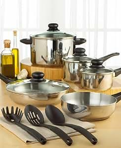 Tools of the Trade Basics Starter 12-Piece Cookware Set