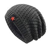WinCret Slouch Beanie Mütze Winter Strickmützen | Dicke Weiche Stretch Warme Wintermütze Long Beanie für Herren und Damen