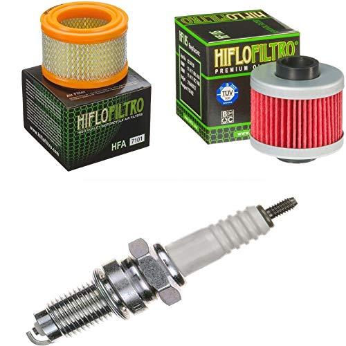 Luftfilter Ölfilter Zündkerze für C1 125 Baujahr 2000-2004 Servicekit Wartungskit -