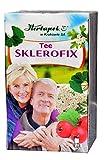 Sklerofix Tee, 20x 2g, 40g - Blutdruck senken, Blutgefäße entspannen, Durchblutung, herz Kreislauf verbessern, herzgespann tinktur, herzvitamine, herztabletten, blutdrucksenker ohne medikamente, cholesterin kapseln