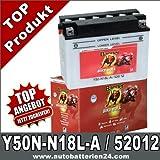 Motorrad Batterie Y50N-N18L-A 20Ah 12Volt 52012 Banner