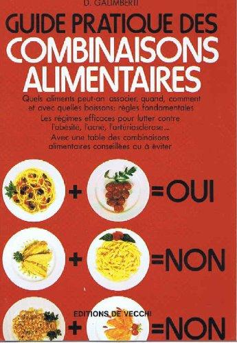 Télécharger Guide pratique des combinaisons alimentaires PDF Ebook En Ligne