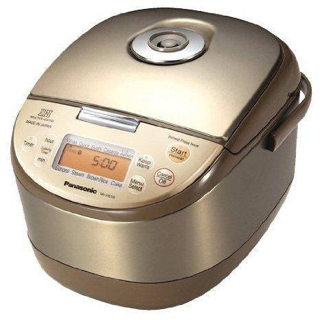 Panasonic IH rice cooker (1.0L / 5.5 cups) SR-JHS10-N / 220V