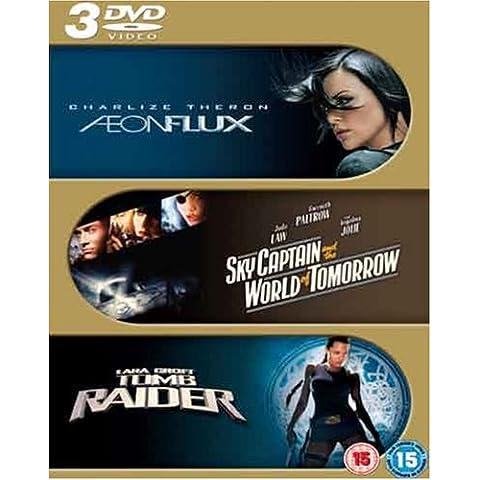 Aeon Flux/Sky Captain & the World of Tomorrow/Tomb Raider
