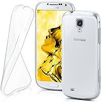 Samsung Galaxy S4 Hülle Silikon Transparent Klar [OneFlow Clear Back-Cover] TPU Schutzhülle Dünn Handyhülle für Samsung Galaxy S4 / S IV Case Ultra-Slim Silikonhülle Rückseite