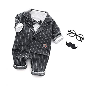 81ec4b5743baa Dudu Diary Boys Cotton Sets in Gray Colour for Ages 2-3 Years ...