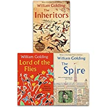William Golding Collection 3 Books Set (Lord of the Flies, The Inheritors, Spire)