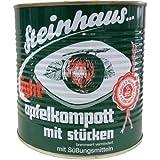 Steinhaus Apfelkompott light mit Stücken (2700g Dose)