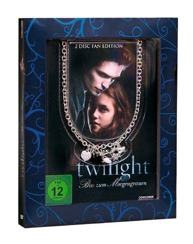 Twilight - Bis(s) zum Morgengrauen (Fan Edition inkl. Halskette Cullen-Wappen) [2 DVDs]
