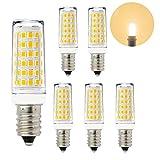 ENUOTEK 11W 1000Lm E14 Edison LED Kleine Glühbirnen Leuchtmittel Lampen Energiesparlampen Warmweiß 3000K AC220-240V für Kronleuchter Spiegelleuchte Wandlampe, 6er Pack