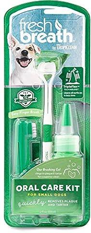 SPA Tropiclean Fresh Kit Oral Care haleine pour chiens, petit