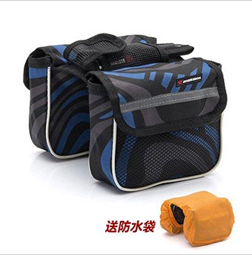 XY&GKMountainbikes Balken Taschen Fahrradtaschen Overhead Taschen Sattel Taschen, machen Ihre Reise angenehmer Blue