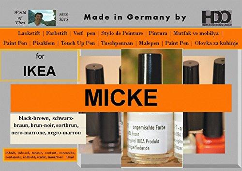 crayon-de-couleur-stylo-retouche-touch-up-pen-for-ikea-micke-black-brown