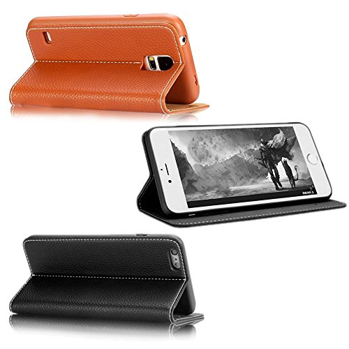 Blitzversand ? Freie Modellwahll ? Top Markenqualität ? NAUC, Farben:Schwarz, Handy Modelle für:Apple iPhone 6 (4.7) Schwarz