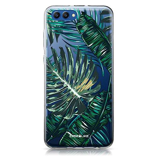 CASEiLIKE® Huawei Honor View 10 Hülle, Huawei Honor View 10 TPU Schutzhülle Tasche Case Cover, Tropische Palme 2238, Kratzfest Weich Flexibel Silikon für Huawei Honor View 10