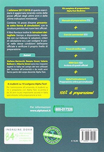 Libro ebook alpha test medicina odontoiatria gratis da for Test medicina online