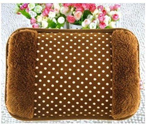 Raavya Enterprises Electric Hot Bag, Hand Warmer, Electric Heater Warm Bag, Heating Gel Pad Fur Velvet With Hand Pocket Pain Relieve