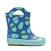 Clarks Tarri Rex Infant Synthetic Wellies in Blue
