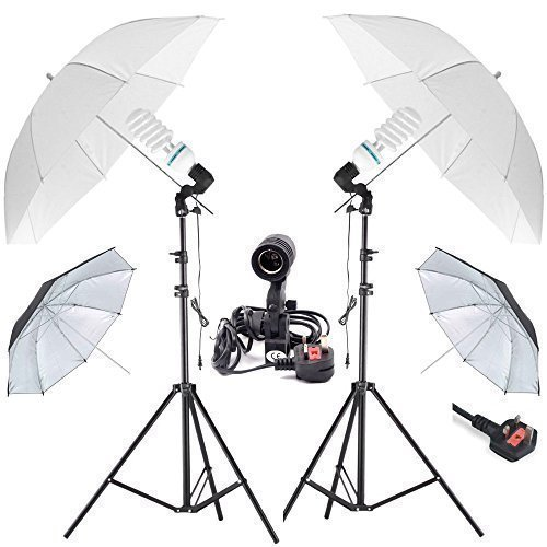 Un Professionale Maosen 2x85w 5500k Daylight Bulbi Photography Attrezzatura Studio