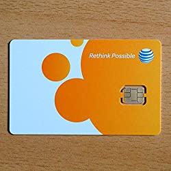 AT&T Nano SIM Card for the iPhone 5
