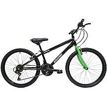 """Discovery DP067 - Bicicleta de montaña mountainbike B.T.T. 24"""". Cambio fricción, 18 Velocidades. Para niño"""