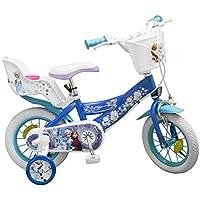 Toimsa - Frozen Vélo pour Enfant sous Licence la Reine de Neige 12 Pouce de 3 à 5 Ans, 681U