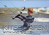 Kitesurfen - Wind und Wellen (Wandkalender 2019 DIN A3 quer): Spektakuläre Aktionsszenen an verschiedenen traumhaften Surfspots (Monatskalender, 14 Seiten ) (CALVENDO Sport)